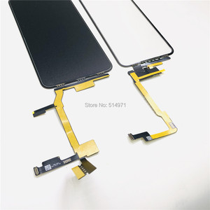 Image 4 - 5 יח\חבילה מגע מסך Digitizer זכוכית עדשת פנל עבור iPhone X XSmax LCD מסך חיצוני סדוק זכוכית החלפת לא צריך הלחמה