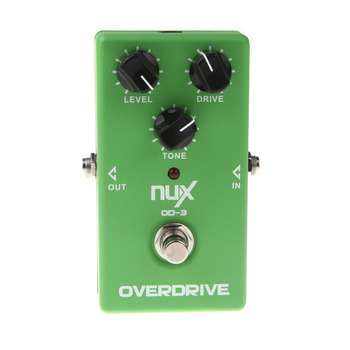 NUX OD-3 Overdrive Electric Guitar Effect Pedal True Bypass Warm tube natural overdrive sound Guitar Pedal High Quality dropship hotone soul press volume expression wah wah guitar pedal cry baby sound