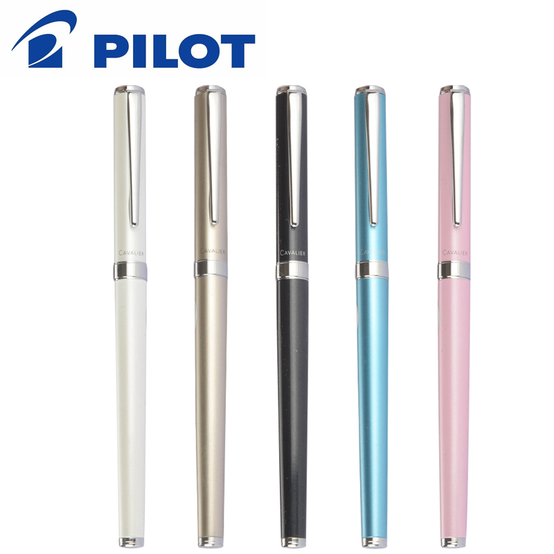Copper-Rod PILOT Cavalier-Pen Ink-Absorber Writing-Pen Yellow 1pcs with F-Tip Student