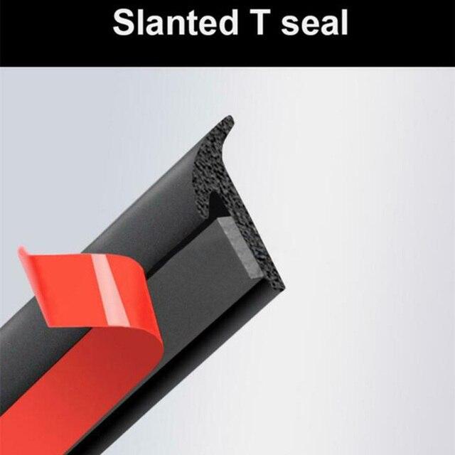 Joint détanchéité anti-déversement bande de remplissage à fente 5M voiture en caoutchouc incliné résistant aux intempéries