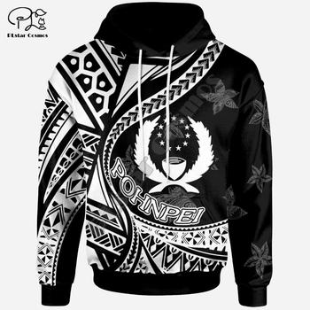 PLstar Cosmos 3DPrint Pohnpei Polynesian Culture Tribe Turtle Tattoo Winter Men/Women Funny Harajuku Streetwear Zip Hoodies-b6 1