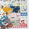 Animal Owl Fish Fox Print Diy Patchwork Quilt Handmade Cloth Bedding Blanket Home Sheets Pillow Decor Tissus 100% Cotton Fabric