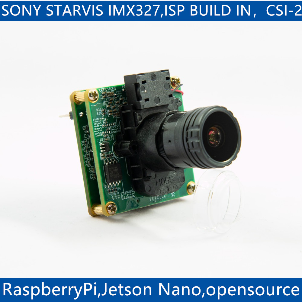 VEYE-MIPI-327E ForRaspberry Pi And Jetson Nano Camera ,IMX327 MIPI CSI-2 2MP Star Light ISP Camera Module