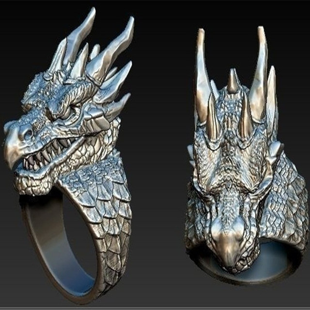 chevaliere dragon homme