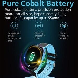 Image 4 - HW11スマート腕時計キッズgps bluetooth歩数計ポジショニングIP67防水時計の子供安全スマートリストバンドアンドロイドios