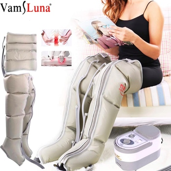 Electric Air Compression Leg Massager Air Boot Wraps Ankles Calf Massage Machine Promote Blood Circulation Relieve Pain Fatigue
