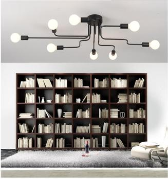 Modern LED Ceiling Chandelier Lighting Living Room Bedroom Chandeliers Creative Home Fixtures Free Shipping - discount item  39% OFF Indoor Lighting