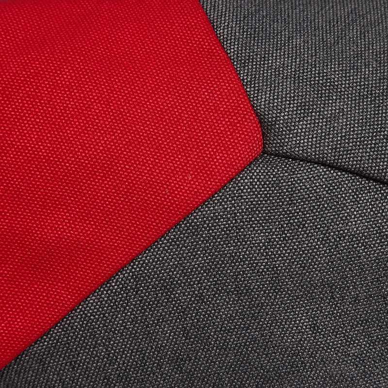 Кресло мешок с Наполнителем Кито - пуф Delicatex серо-красный мяч мешок кресло