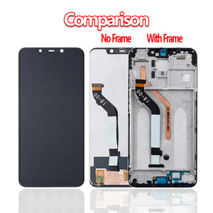 100% Original For Xiaomi Pocophone F1 LCD Display+Touch Screen Digitizer Assembly for Xiaomi Pocophone F1 LCD Screen Replacement