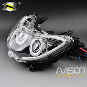 Image 3 - For  NMAX 155 NMAX155  2016 2017 2018 Modified Motorcycle Parts Nmax HID Head Light Headlamp Front Lamps