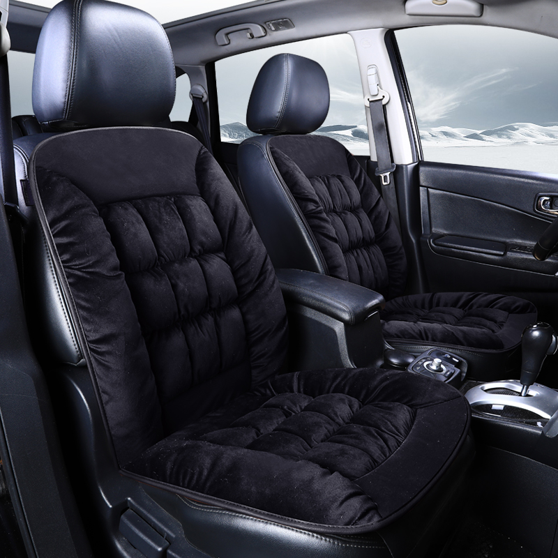 Best Car Seat Cushion >> Us 11 89 35 Off New Winter Car Plush Cushion Single Piece Car Interior Supplies Seat Plush Warm Car Seat Cushion Auto Accessories Best For Car On