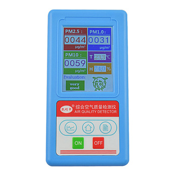 PM2.5 Air Quality Monitor PM 2.5 PM10 Home Gas Analyzer Particle Number Detector Dust Counter Tester Temperature Humidity Meter