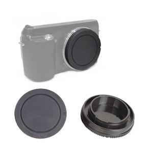 Image 5 - 50Pairs/lot camera Body cap + Rear Lens Cap for Sony NEX NEX 3 E mount
