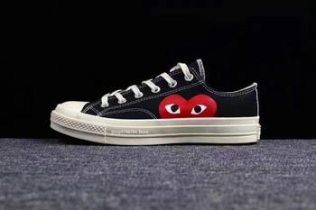 Converse all star classic CDG PLAY x 1970s Daily leisure High/Low Unisex Shoes high quality Canvas Skateboard Shoes converse child shoes classic hatch laugh low help magic subsidies canvas children shoes 362179c