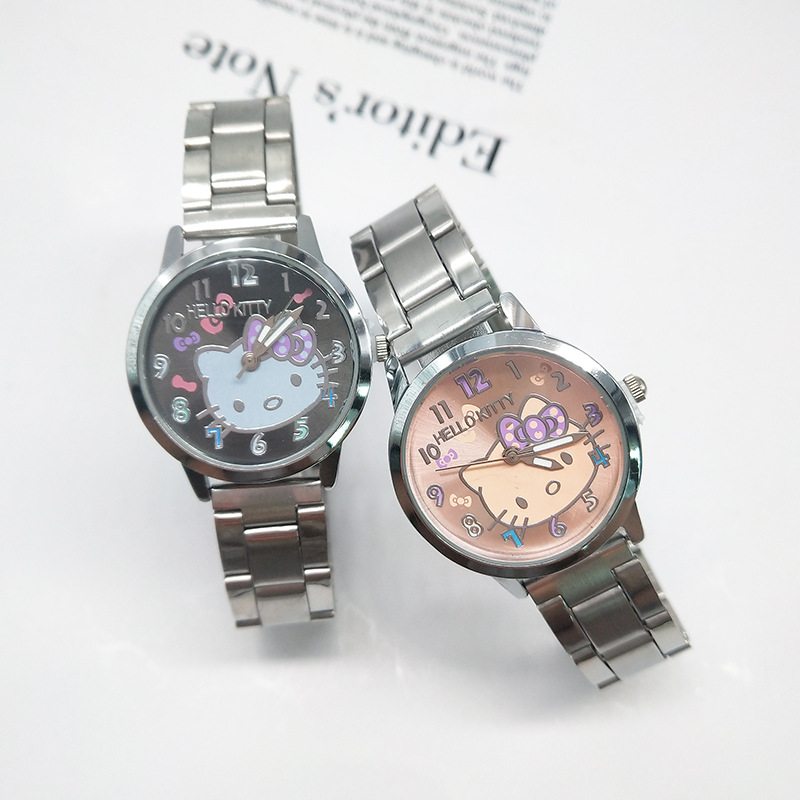 Women Watch Girls Kids Women Children Gifts Cartoon Watch Full Stainless Steel Strap Quartz Watch Clock Hodinky