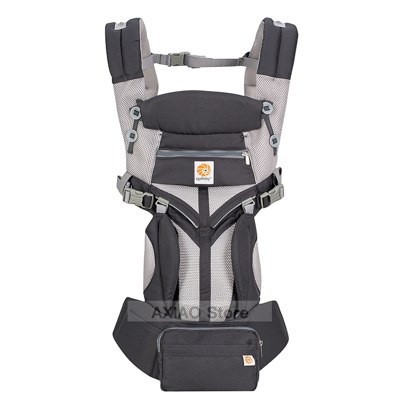 Adjustable 0-36M Ergonomic Baby Carriers Backpack Portable Baby Sling Wrap Cotton OMNI 360 Infant Newborn Kangaroo Bag Hipseat