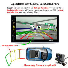 Quad Core HD 2Din 7 Inch Car GPS Player Android 6. 0 Phonelink GPS Function + Bluetooth + Radio Function Vehicle GPS Accessories
