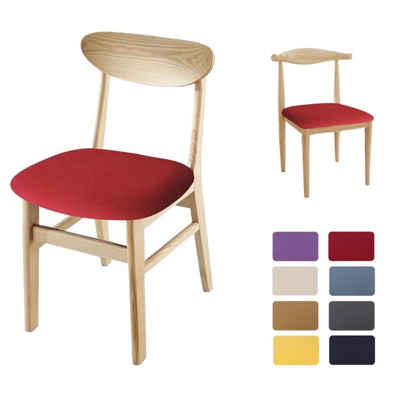Чехол для обеденного стула с принтом, кухонный эластичный жаккардовый защитный чехол для сиденья, съемный эластичный чехол для сиденья, чехол для гостиной|Чехлы на стулья|   | АлиЭкспресс