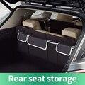 Автомобильный задний сумка для хранения на спинку сиденья Водонепроницаемый багажник авто сиденье сетка в багажник многоцелевого использ...