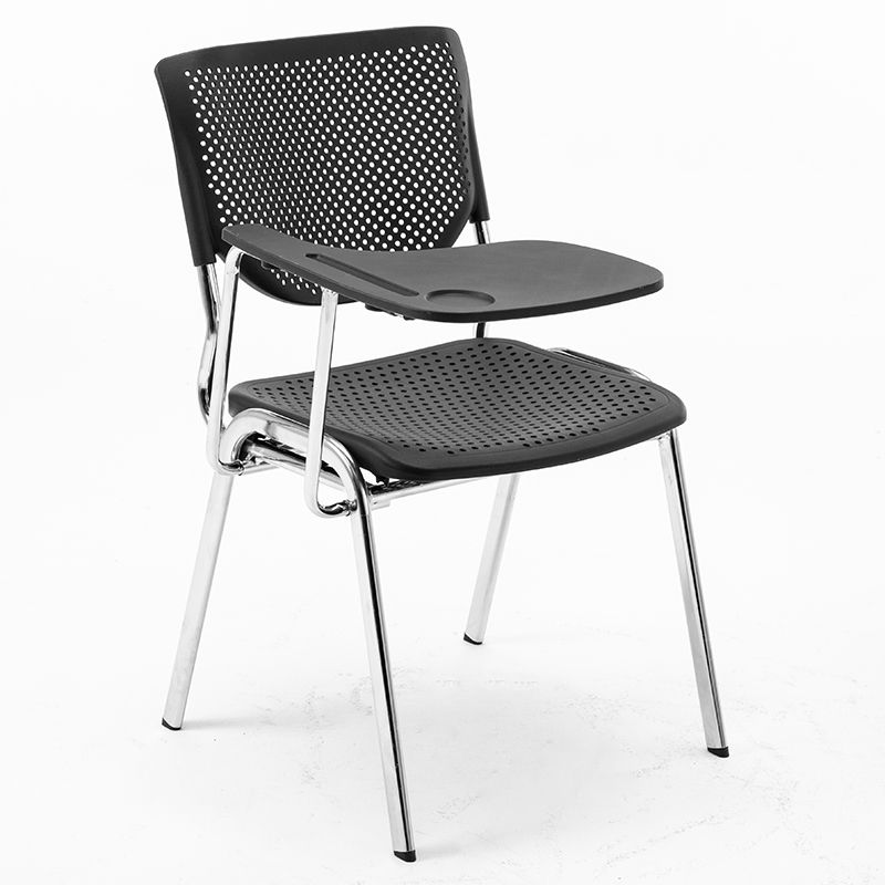 Training Chair With Writing Board Student Folding Table And Chair One Office Chair Staff Meeting Chair Simple Backrest