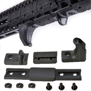 WADSN 4pcs/pack Airsoft M-Lok Handguard Rail Panel Cover Hand Tool kit fit for M Lok Rail Hunting Acessories(China)