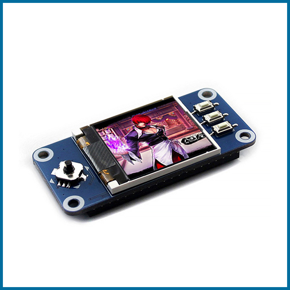 S ROBOT Raspberry Pi 4B/3B+/3B/Zero 1.44 Inch LCD Hat 3.3V 128x128 SPI Interface  LED Backlight Display With Joystick RPI59