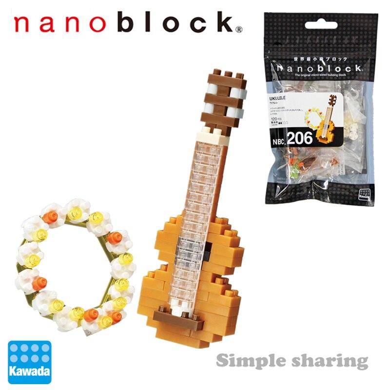 NEW NANOBLOCK Ukulele Nano Block Micro-Sized Building Blocks Nanoblocks NBC-206