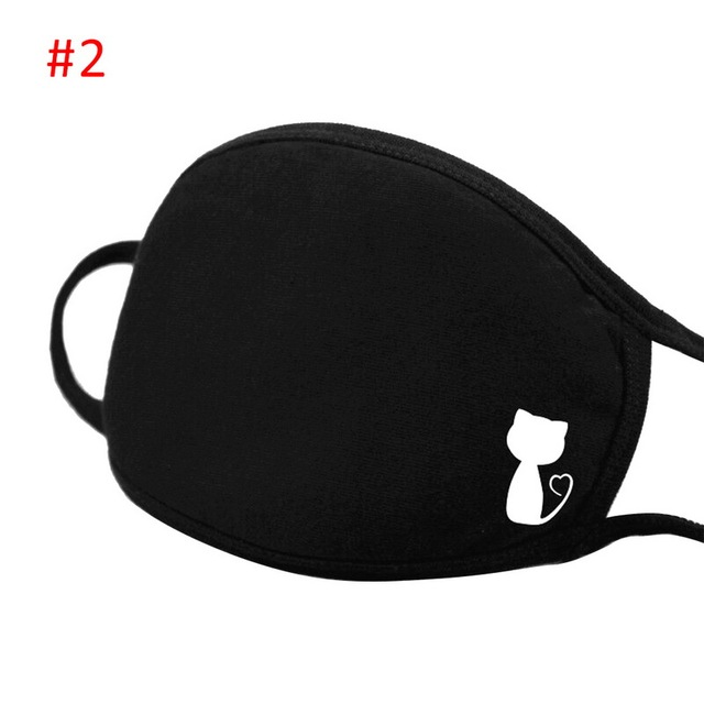 Respirator Anti Kpop Bear Mouth Mask Dust Mask Cartoon Expression Teeth Muffle Face Respirator Anti Kpop Bear Mouth Mask#5 5
