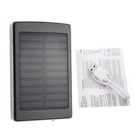 휴대용 크기 50000mAh 대용량 태양 전지 패널 전원 은행 야외 외부 배터리 충전기 스마트 폰 프로모션 새로운 뜨거운