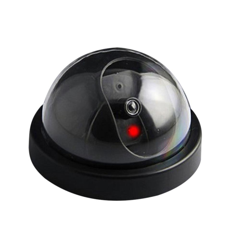 New Ehanced Simulated Security Camera Fake Dome Dummy Camera With Flash LED Light GY88