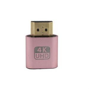VGA 4K HDMI Virtual Display Adapter HDMI 1.4 DDC EDID Dummy Plug Display Emulator Connector Adapter DDC Edid Accessories
