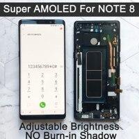 НОВЫЙ 6,3 Оригинальный супер AMOLED дисплей для SAMSUNG Galaxy NOTE 8 lcd N950 N950F дисплей для Note8 сенсорный экран Запасные части дигитайзер