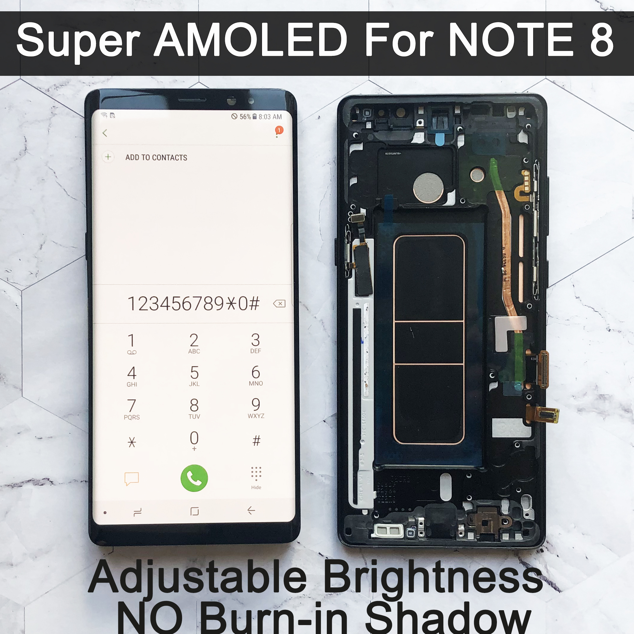 Super-Amoled-Display Replacement-Parts Touch-Screen Lcd N950 N950f-Display Note8 Samsung Galaxy title=