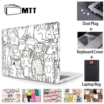 MTT Kawaii Case For Macbook Air Pro Retina 11 12 13 15 16 inch Touch bar Cute Cartoon Cover for macbook Air 13.3 Laptop Sleeve цена 2017