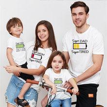 Talloly/футболка с короткими рукавами для родителей и детей