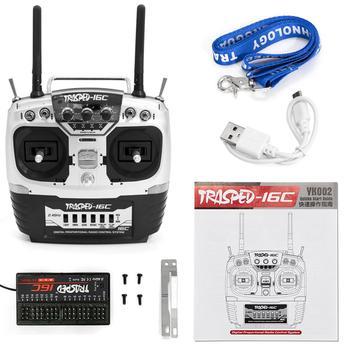 HG P407 P801 P802 actualizado 2,4G 16CH Control remoto transmisor YK002 RC controlador para RC Car Drone Shiper Toys