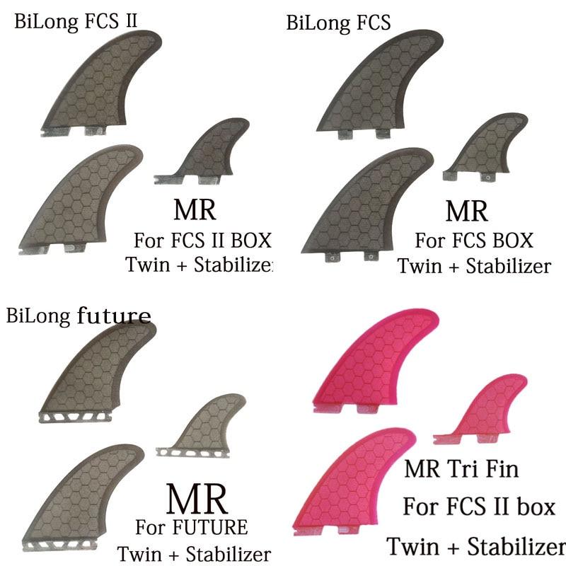 BiLong FCS/ FCS II /FUTURE/плавники plug Twin + стабилизатор Tri Fin, плавники для серфинга, 3 шт. в наборе, сердечник для строительных работ