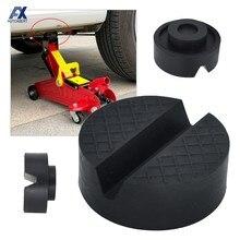 Soporte Universal de goma para reparación de coches, adaptador de riel de marco de suelo ranurado, herramienta de reparación para VW, Ford, KIA y Renault