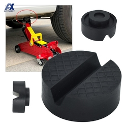 Universal Rubber Jack Pad Support Pinch Weld Slotted Floor Frame Rail Adapter Car Removal Repair Tool For VW Ford KIA Renault