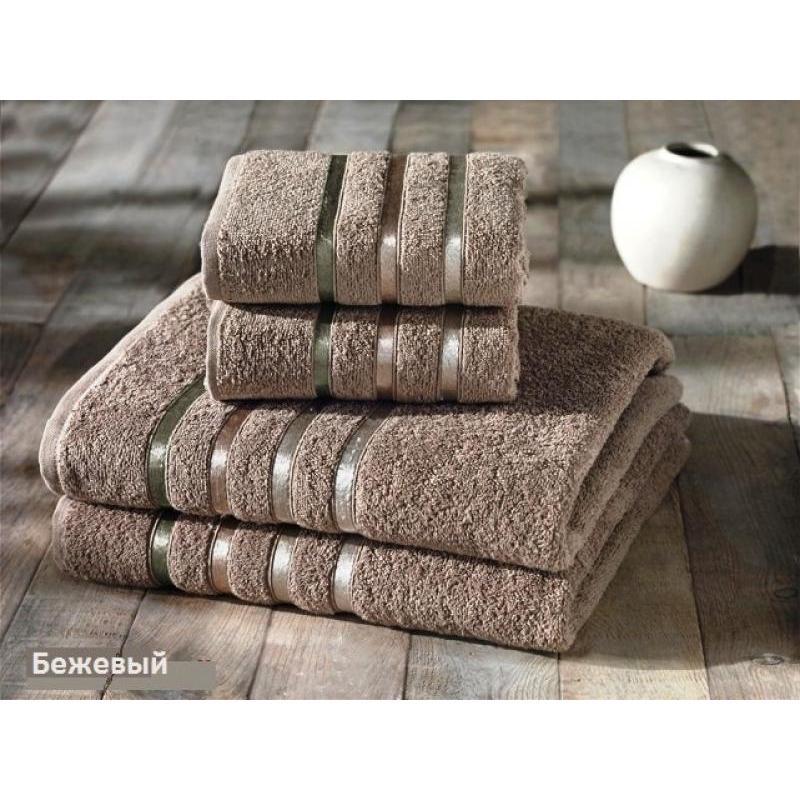 Towel Set KARNA, BALE, coffee, 4 subject towel set karna bale dark yellow 4 subject