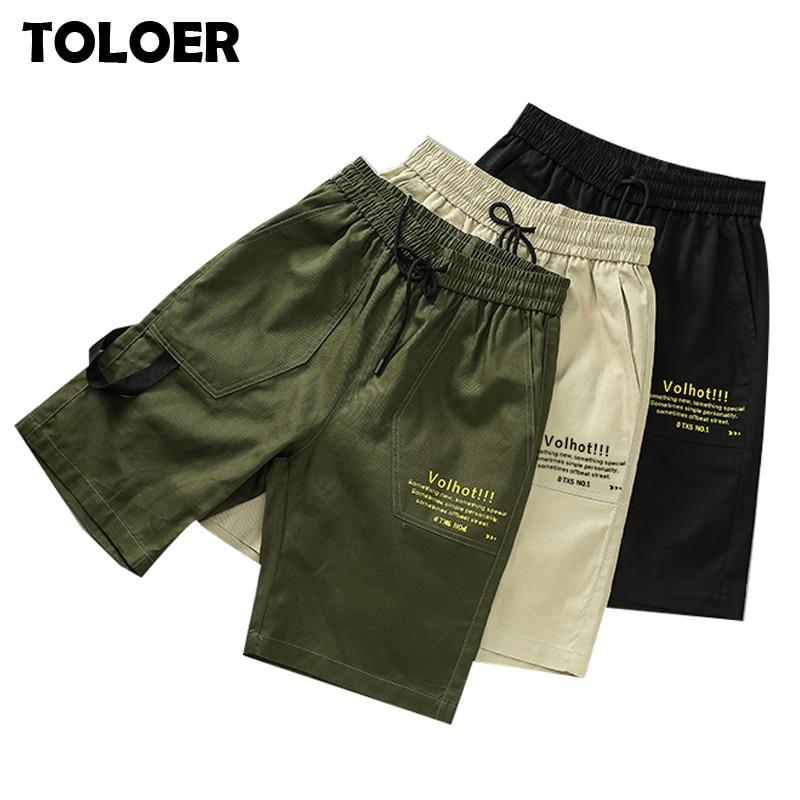 Fashion Shorts Men Summer Casual Mulit-Pocket Shorts 2020 Men Jogger Shorts Trousers Men Breathable Male Hip hop Short Pants 4XL