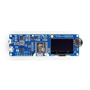 1 шт. DSTIKE WiFi Deauther O светодиодный V5 WiFi атака/контроль/тест-инструмент ESP8266 1.3O светодиодный 8 дБ антенна 18650 зарядное устройство RGB светодиодный б...