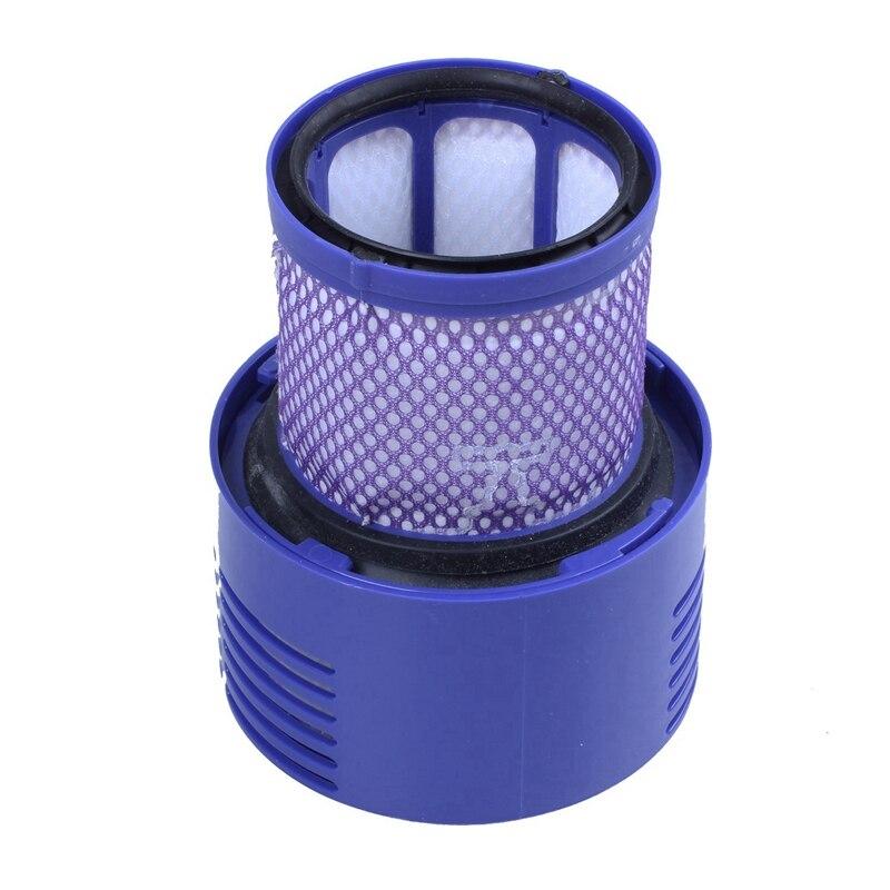 Ev Aletleri'ten Elektrikli Süpürge parçaları'de Yıkanabilir filtre ünitesi Dyson V10 SV12 siklon hayvan mutlak toplam temiz elektrikli süpürge title=