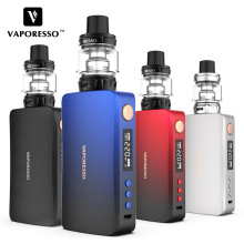 NEW! Original 220W Vaporesso GEN TC Electronic Cigarette Kits with Vaporesso GEN Box Mod 8ml SKRR-S Tank E-Cigarettes Vape Kit 100% original ijoy rdta box kit 200w with 12 8ml large e juice tank