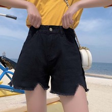 2020 Plus Size Women Summer Sexy Denim Shorts Jeans High Waisted Mini Super Black Shorts Booty Vintage Casual Girls Shorts 4XL