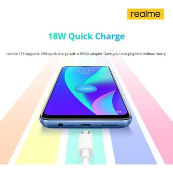 Глобальная версия Realme C15 Octa Core 4 Гб 64 Гб 3