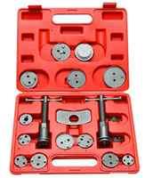 18PC Car Disc Brake Caliper Wind Back Piston Compressor Removal Tool Kit Brake Repair Tool Set AT2143