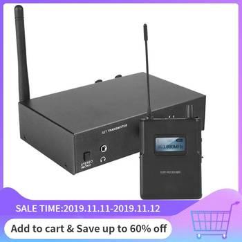 Bezprzewodowy system monitorowania zestaw 526-535Mhz nadajnik-odbiornik douszny etap monitorowania 100-240V dla ANLEON S2 tanie i dobre opinie VBESTLIFE Studio Monitorowania Wireless Monitor System Kit Pakiet 4