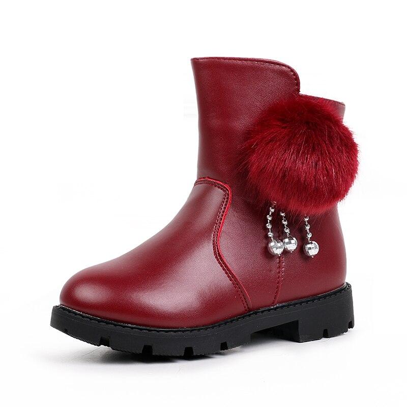 2019 New Big Kids Fashion Boots Warm