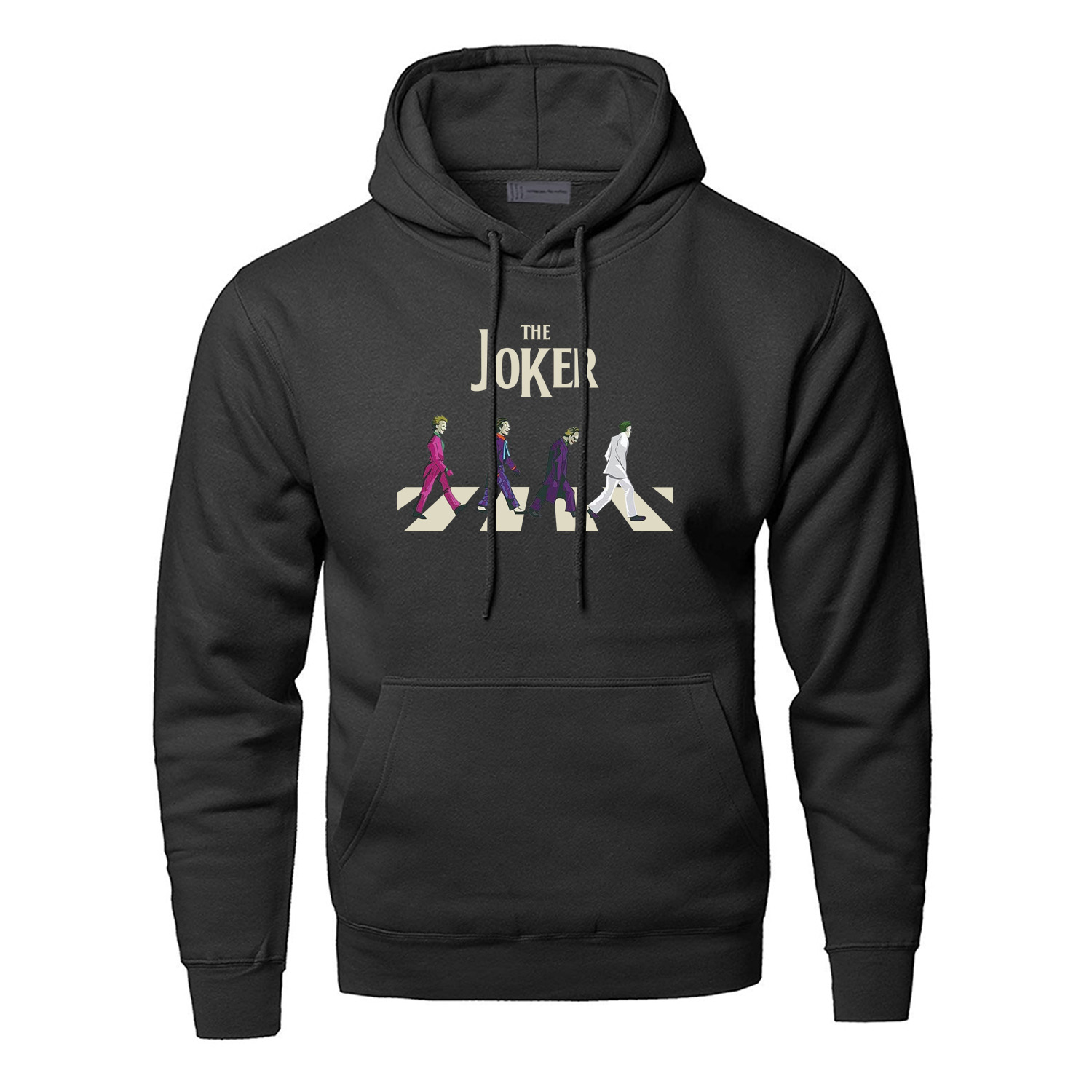 The Joker Hoodies Men Sweatshirts Villain Eric Border Hooded Sweatshirt Winter Autumn Fleece Streetwear Jack Napier Sportswear